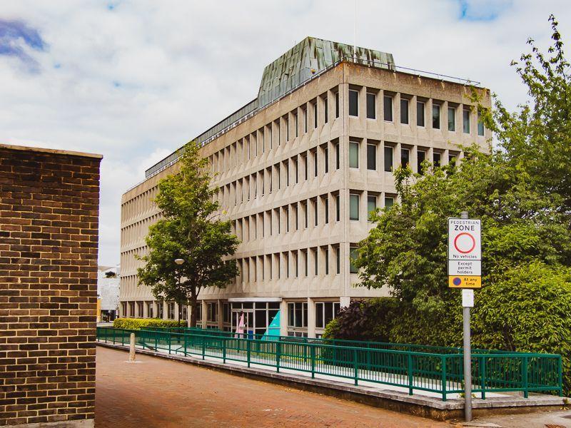 Bracknell Town Centre Brutalist