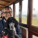 Richard and Lottie the Poodle