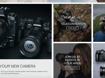 Olympus Cameras and more