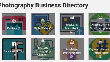Photography Business Directory  - Launched 3
