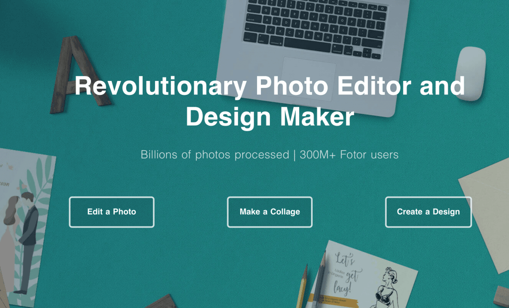 Fotor – Revolutionary Photo Editor and Design Maker