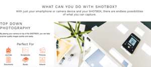 Shotbox – The Versatile, Portable,  Ultimate Photo Studio