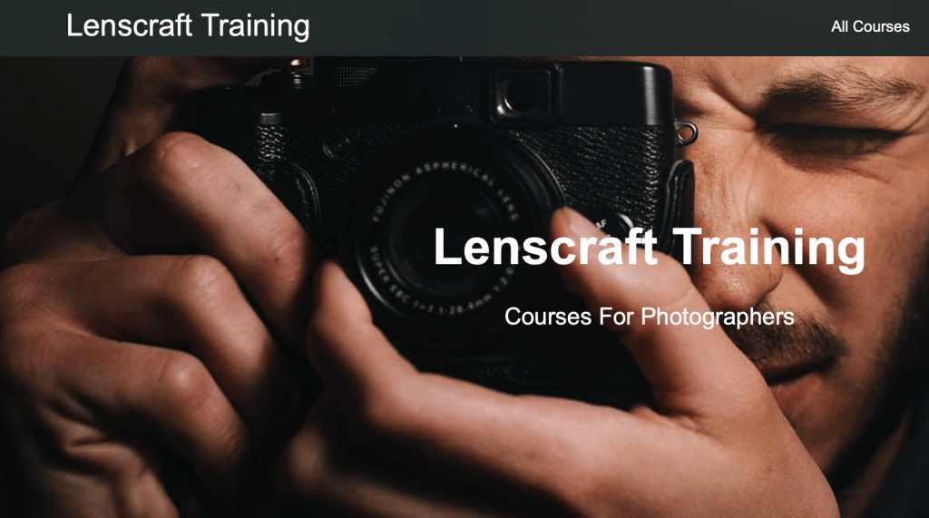 Lenscraft Training