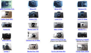 135compact – a Comparison of Small Cameras