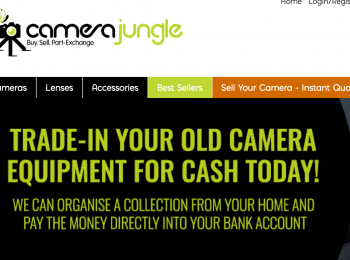 Camera Jungle – Trade in Your Old Camera for Cash