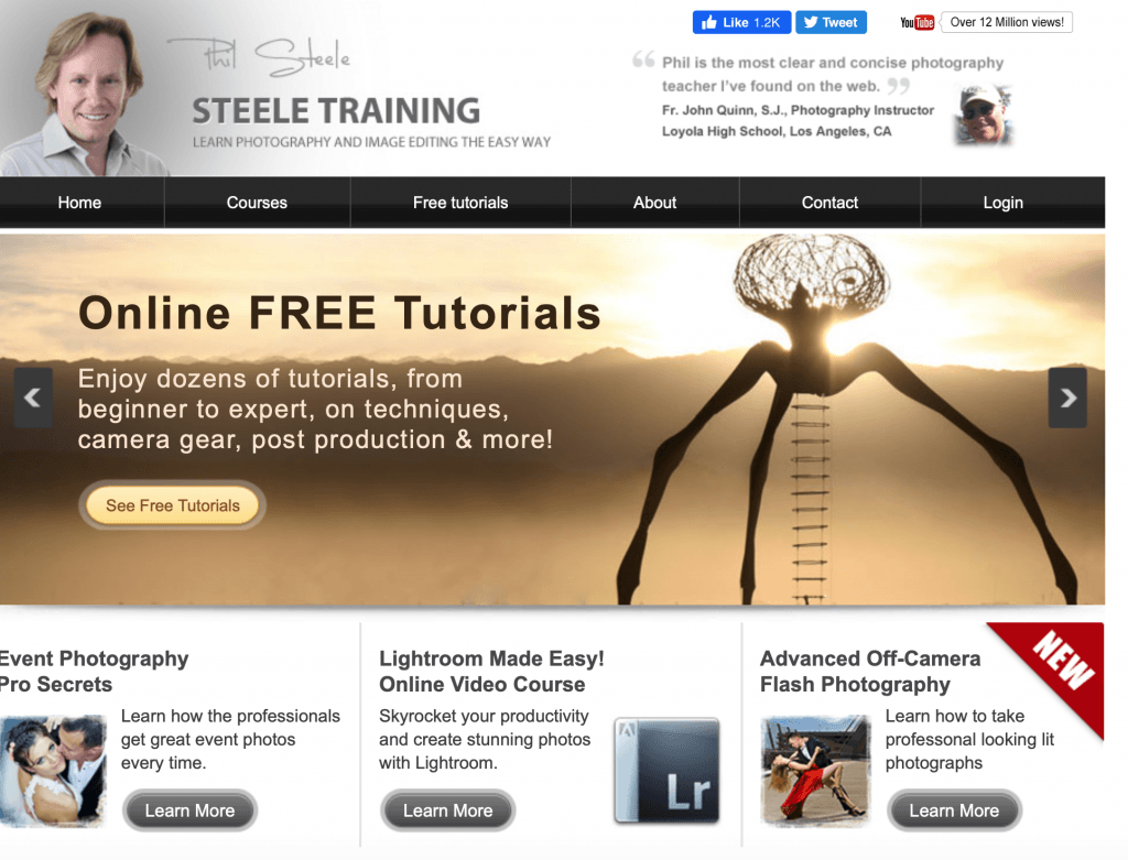 Steele Training – Learn Photography and Image Editing the Easy way