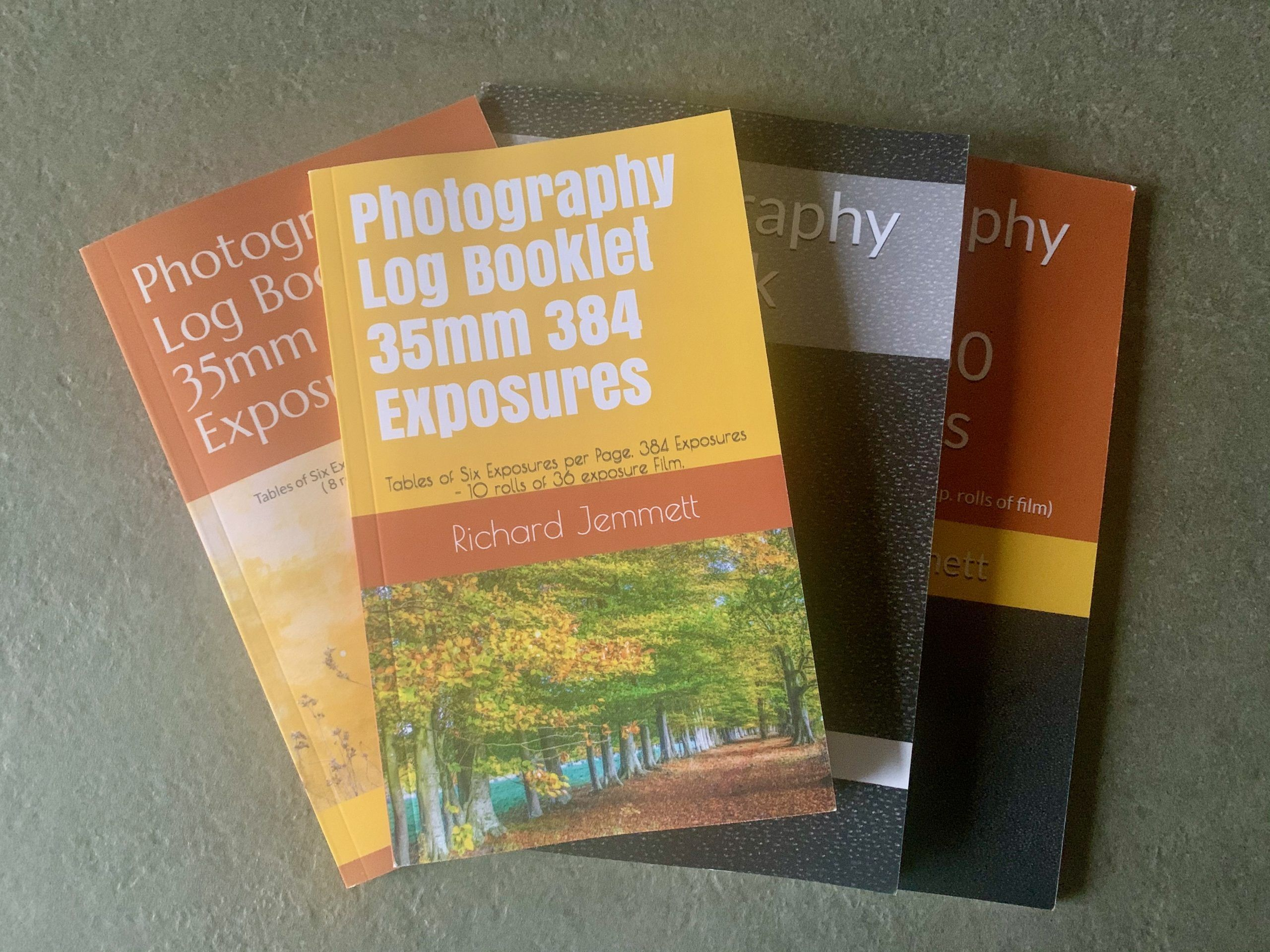 Group of Photography Log Books