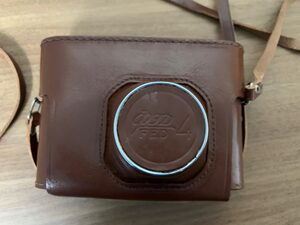 FED-4 Leather case