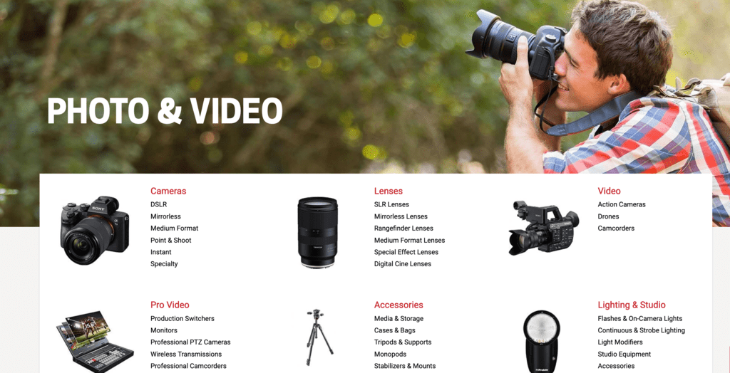 Focus - Photography and Video Gear. New and Used