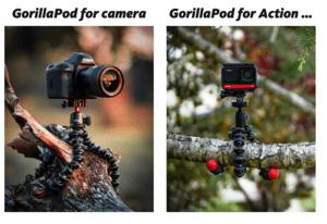 JOBY GorillaPods - have fun. create.