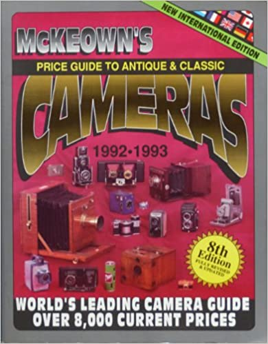 McKeown's Price Guide to Antique and Classic Cameras, 1992-1993