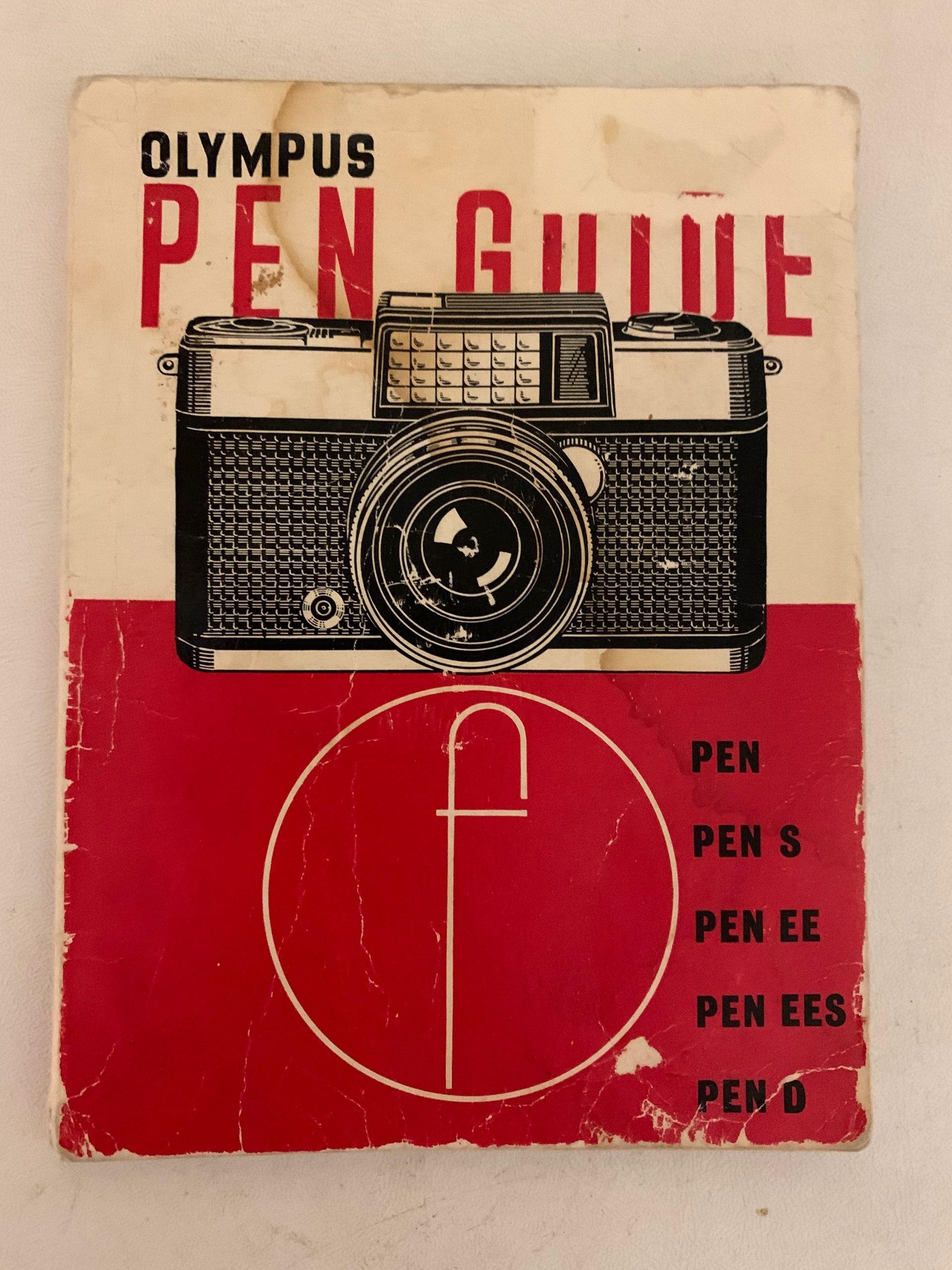 Olympus Pen Camera Guide – Focal Press First Edition 1963