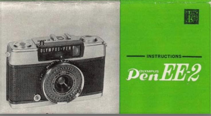 Olympus Pen EE-2 Manual 1968-77 Camera Manual for Instant Digital Download