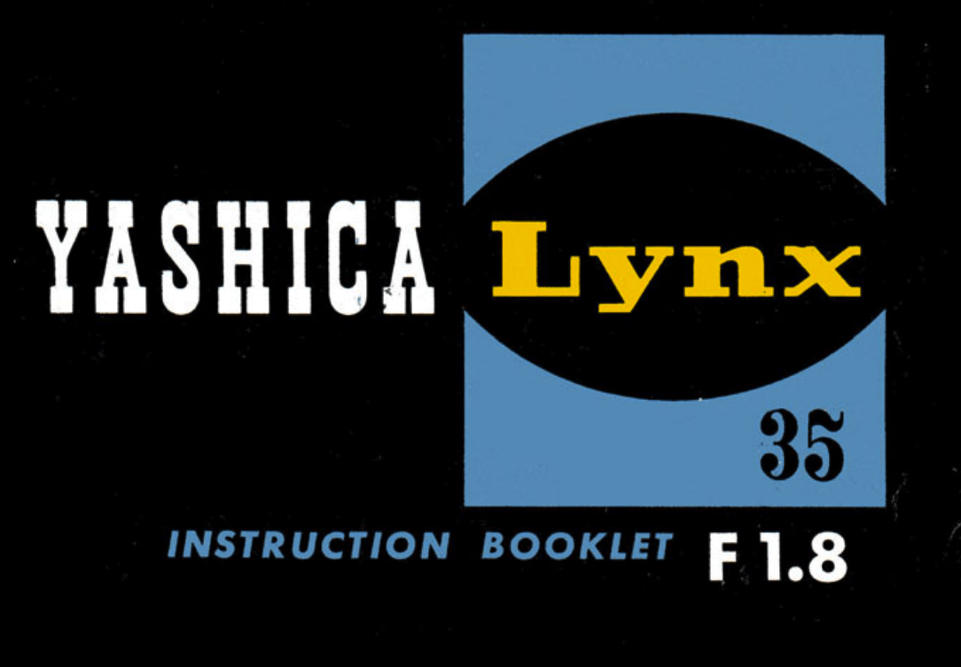 Yashica Lynx 1000 Manual – instant download
